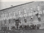 Old Town, the original Bassett Furniture Company factory, circa 1902.
