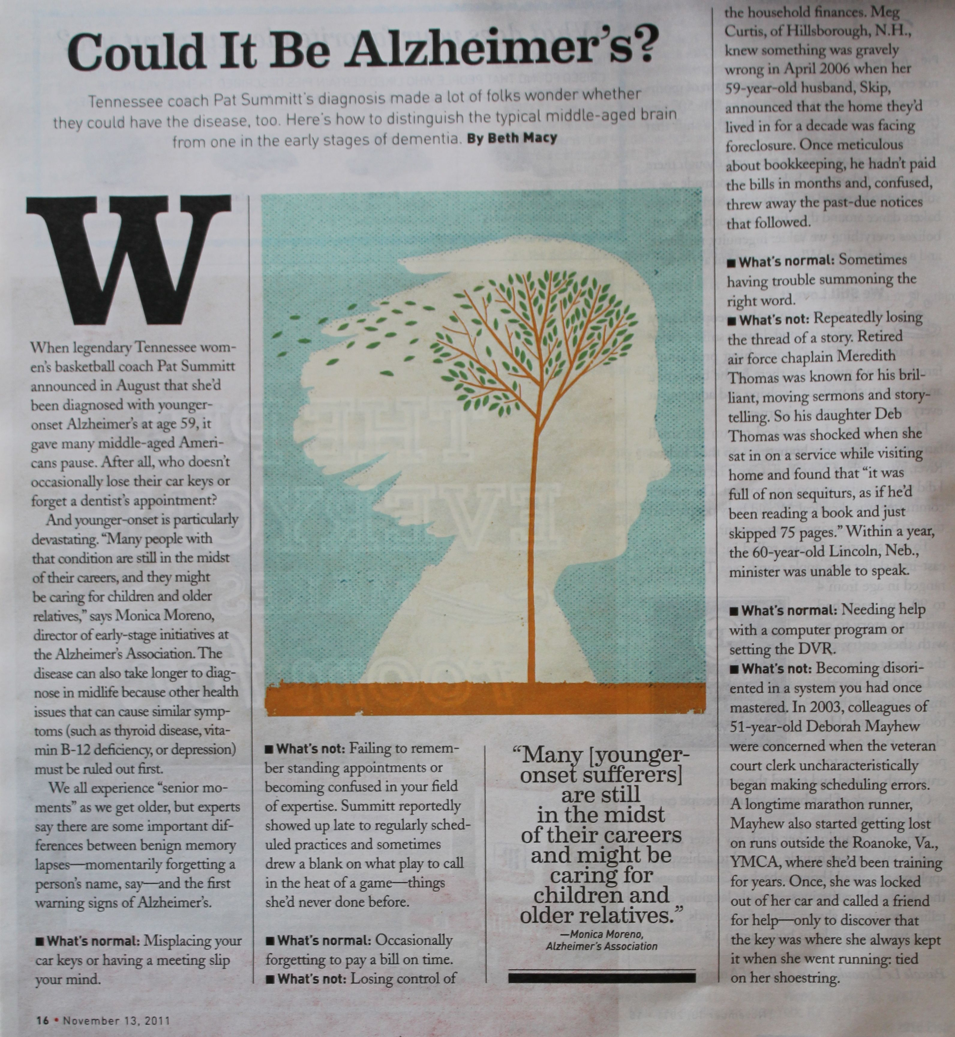 article approximately alzheimer disease