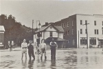 John Bassett III was born during the epic flood of 1937, a flood of near biblical proportions that had people wondering, decades later, if it might have prophesied his exit from the town.