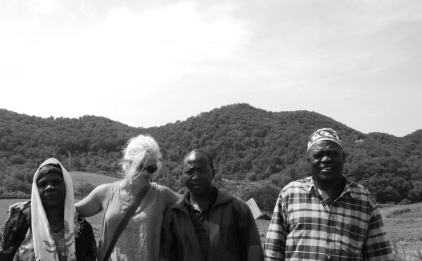 Somali Bantu farmers I met when they landed in America, then re-interviewed eight years later when they began farming again in Virginia. |Photo by Faduma Guhad