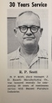 """R.P. """"Scotty"""" Scott was a longtime Bassett factory manager who died on April 25, 2014. At the end of our first interview in 2013, he said, """"Don't put in anything bad I said. But if you do, tell 'em it's the goddamned truth!"""" RIP Scotty, and thanks."""